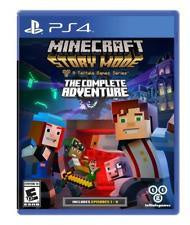 MINECRAFT STORY MODE A TELLTALE GAME SERIES | PS4 PRE-OWNED
