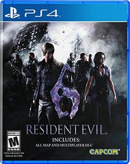 RESIDENT EVIL 6 | PS4 PRE-OWNED