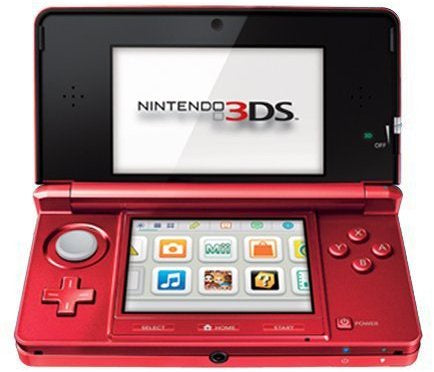 NINTENDO 3DS CONSOLE - RED | 3DS PRE-OWNED