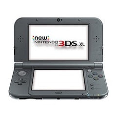 NEW NINTENDO 3DS XL - BLACK | 3DS PRE-OWNED