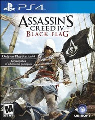 ASSASSIN'S CREED BLACK FLAG | PS4 PRE-OWNED