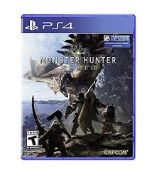 MONSTER HUNTER WORLD | PS4 PRE-OWNED