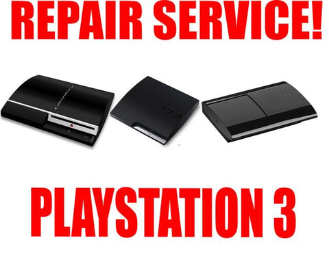PLAYSTATION 3 REPAIR SERVICE