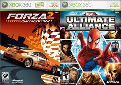 MARVEL ULTIMATE ALLIANCE/FORZA 2 | XBOX 360 PRE-OWNED