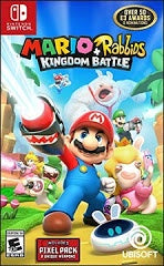 MARIO + RABBIDS KINGDOM BATTLE | SWITCH PRE-OWNED