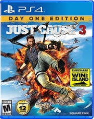 JUST CAUSE 3 | PS4 PRE-OWNED