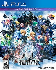 WORLD OF FINAL FANTASY | PS4 PRE-OWNED