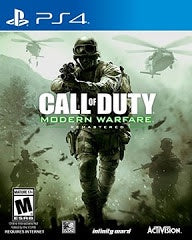 CALL OF DUTY MODERN WARFARE REMASTERED | PS4 PRE-OWNED
