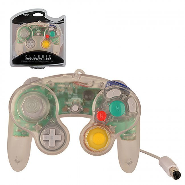 Ttx Gamecube Controller Clear Gamecube New The Gaming Garage