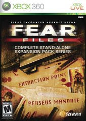FEAR FILES | XBOX 360 PRE-OWNED