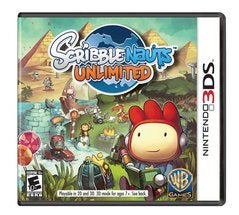 SCRIBBLENAUTS UNLIMITED | 3DS PRE-OWNED