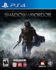 MIDDLE EARTH SHADOW OF MORDOR | PS4 PRE-OWNED