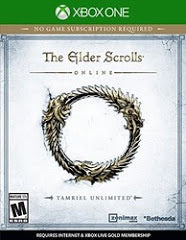 THE ELDER SCROLLS ONLINE: TAMRIEL UNLIMITED | XBOX ONE PRE-OWNED