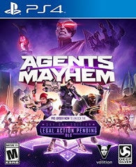 AGENTS OF MAYHEM | PS4 PRE-OWNED