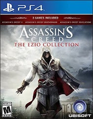 ASSASSIN'S CREED: THE EZIO COLLECTION | PS4 PRE-OWNED