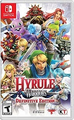 HYRULE WARRIORS DEFINITIVE EDITION | SWITCH PRE-OWNED