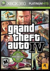 GRAND THEFT AUTO IV | XBOX 360 PRE-OWNED