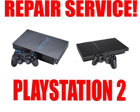 PLAYSTATION 2 REPAIR SERVICE