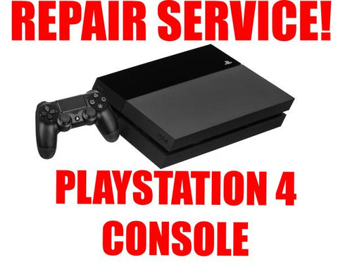 PLAYSTATION 4 REPAIR SERVICE
