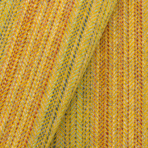 Gold Striped wool