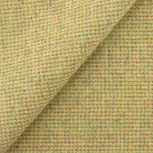 Chartreuse & Terra Cotta Ticking wool