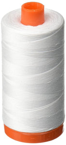 Aurifil 50wt Cotton - 2024 white
