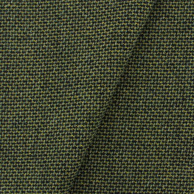 Green, Gold & Black Tweed wool