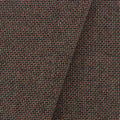 Green, Orange & Black Tweed wool
