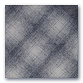 Grey & White Ombre Plaid wool