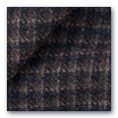 Brown & Black Plaid wool