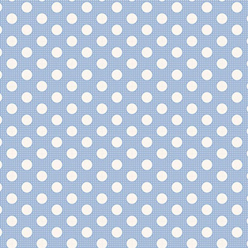 Tilda Medium Dots Blue
