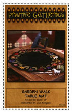Garden Walk Table Mat pattern