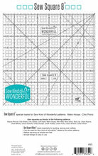 "Sew Square 8"" Ruler"