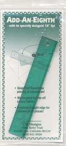 Add-An-Eighth ruler 6 inch