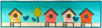 Row by Row 2016 Bird Beach House pattern