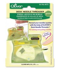 Clover Needle Threader - Green