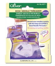 Clover Needle Threader - Purple