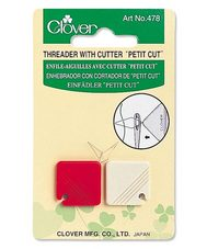 Clover Threader with Cutter