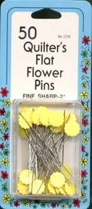 Collins Flat Flower Pins