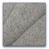 Grey Herringbone wool