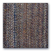 Grey, Navy & Brown Striped wool