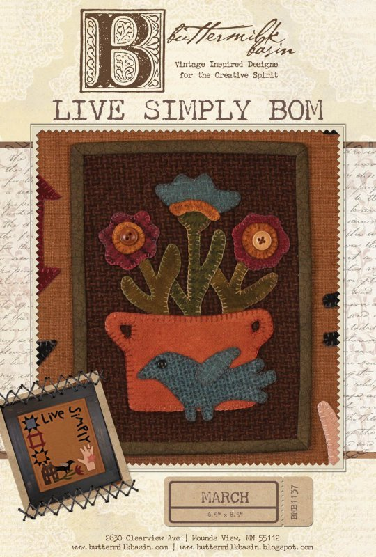 Live Simply BOM - March pattern