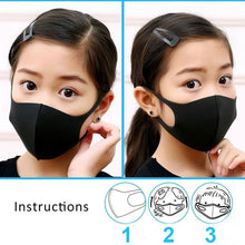 Load image into Gallery viewer, 12pcs Reusable Face Mask Foam Fashion Assorted Colors Breathable Comfort Individual Wrap