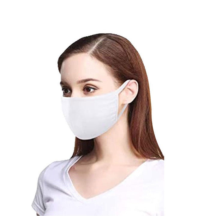 (3-Pack) Cotton Face Mask Washable Reusable THICK Anti-Dust Mouth Cover