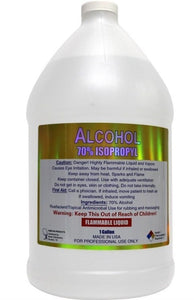 Isopropyl Alcohol/ 70% / Disinfectant /Antiseptic / 1 Gallon Bottle