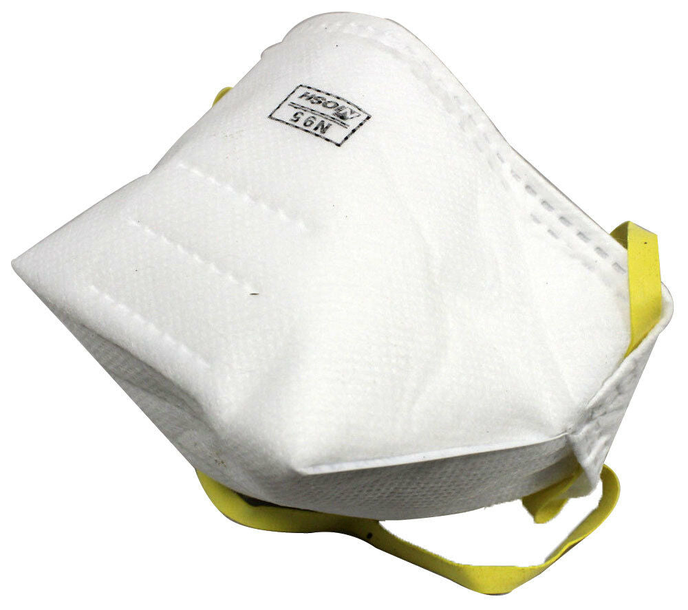5-Pack Infectiguard N95 Particulate Respirator Disposable Face Masks Latex-Free NIOSH