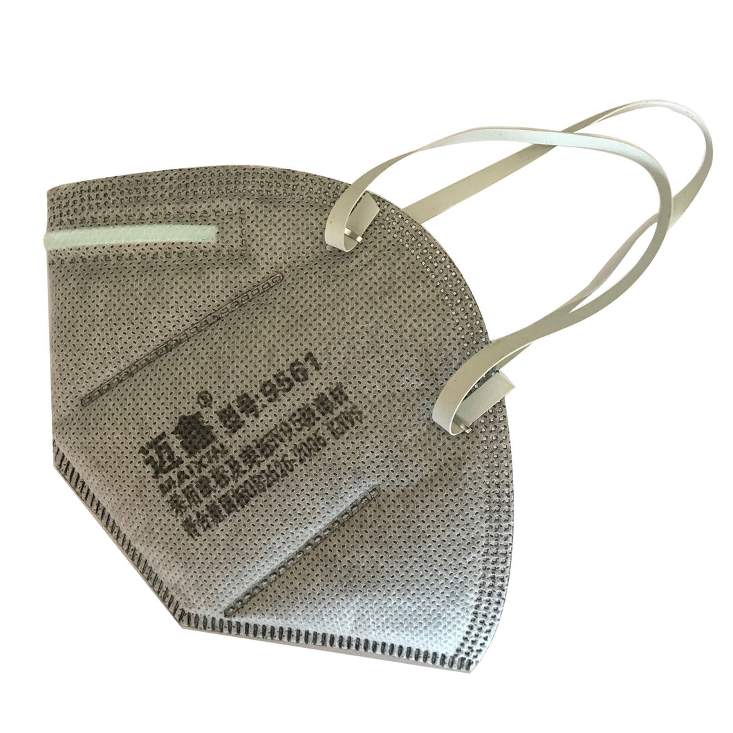 (10-Pack) Premium 5-Layer KN95 Respirator Face Mask Grey Maixin 9561