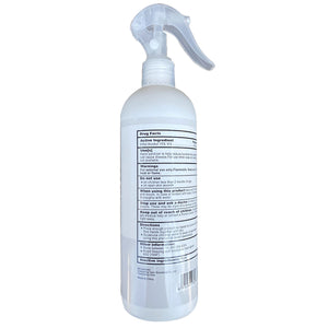 Disinfecting Spray 75% Alcohol - Kills 99.9% Viruses & Bacteria 16.9oz 500mL