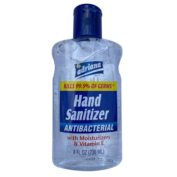 Hand Sanitizer / Flip Top / GEL / 8oz Bottle
