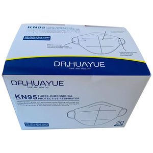 10-Pack KN95 Particulate Respirator Face Mask Disposable Dr.Huayue FDA Certified